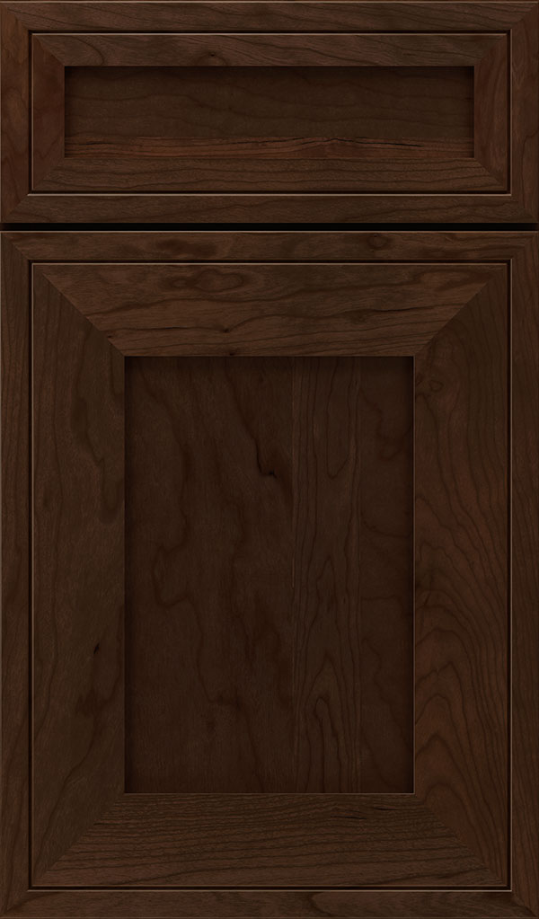 Airedale 5-Piece Cherry Shaker Style Cabinet Door in Bombay