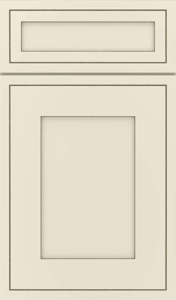 Airedale 5-Piece Maple Shaker Style Cabinet Door in Chantille Twilight