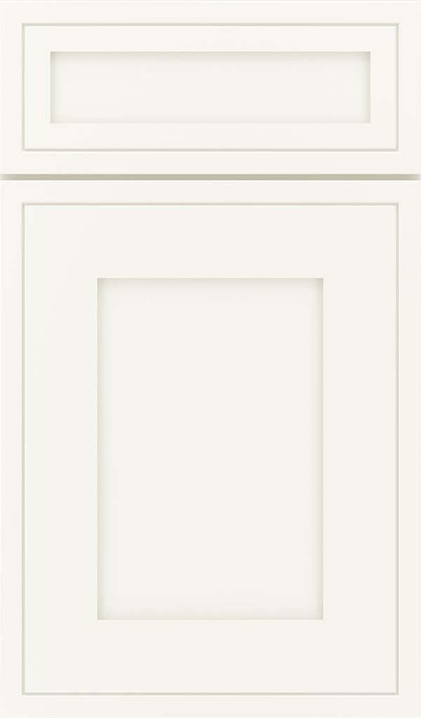 Airedale 5-Piece Maple Shaker Style Cabinet Door in White