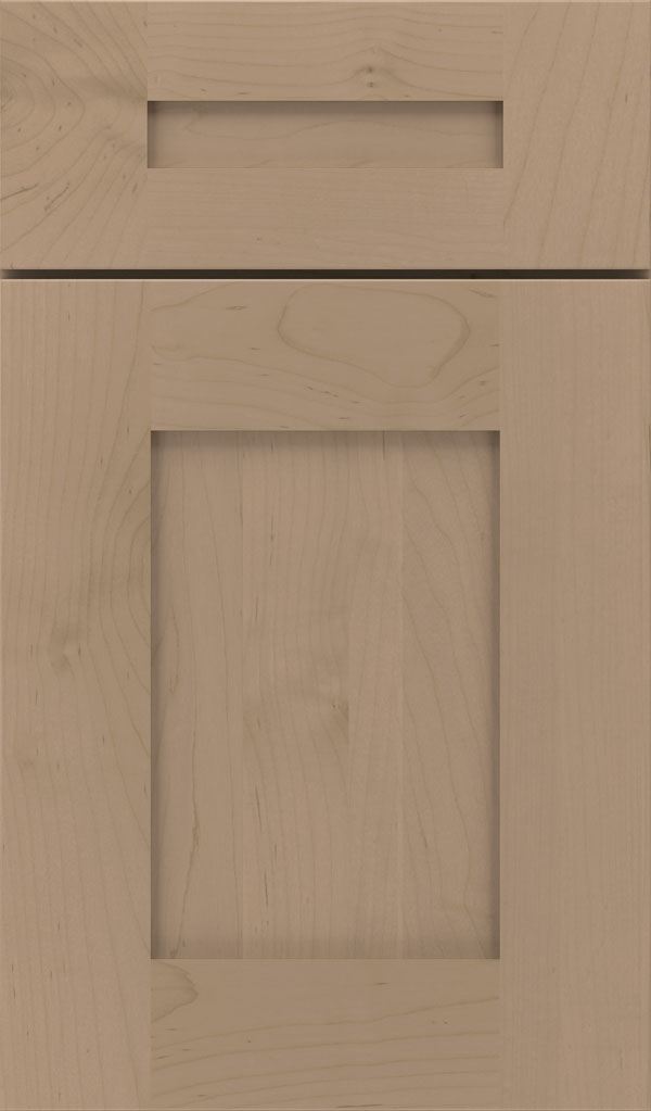 Artisan 5-piece Maple shaker cabinet door in Fog
