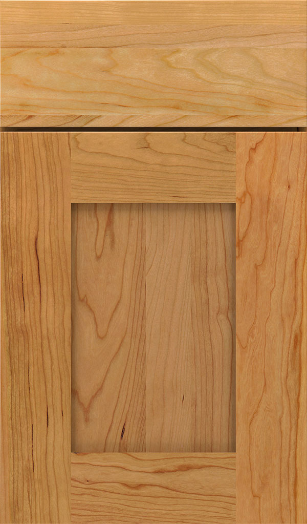 Artisan Cherry Shaker Cabinet Door in Natural
