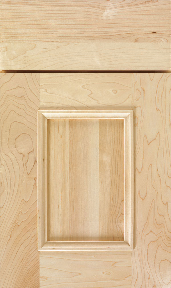 Atwater Maple flat panel cabinet door in Natural