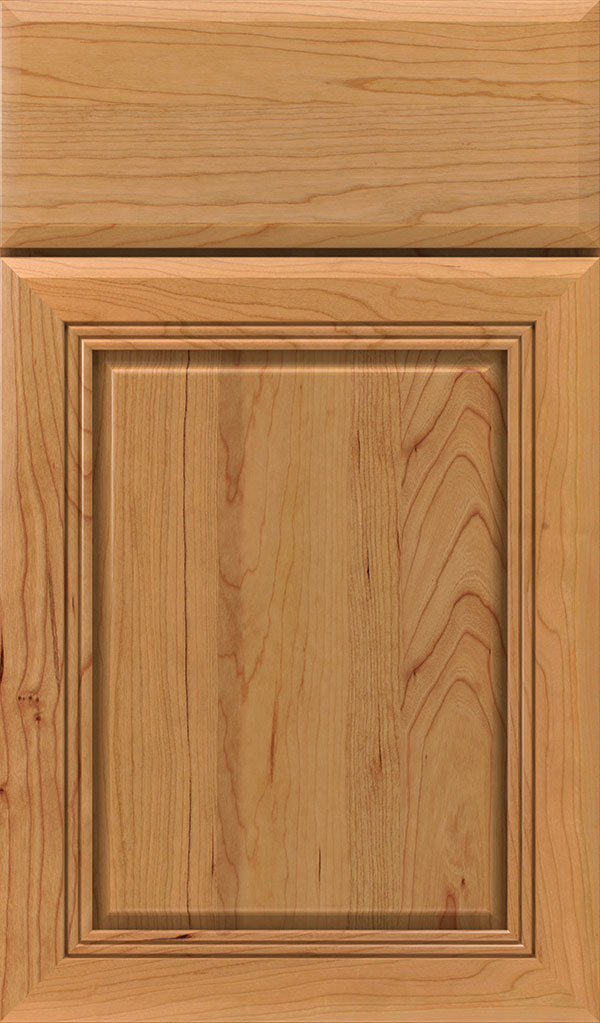 Cambridge Cherry Raised Panel Cabinet Door in Natural