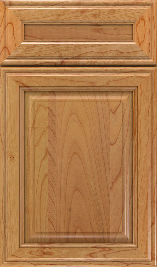 Galleria 5-Piece Cherry Raised Panel Cabinet Door in Natural