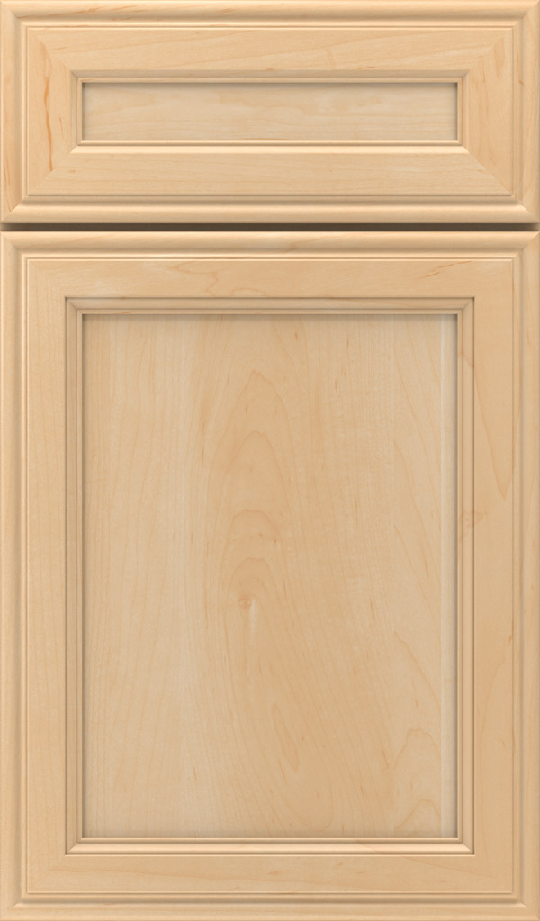 Girard 5-Piece Maple Raised Panel Cabinet Door in Natural