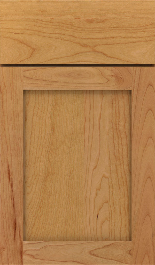 Harmony Cherry Shaker Cabinet Door in Natural