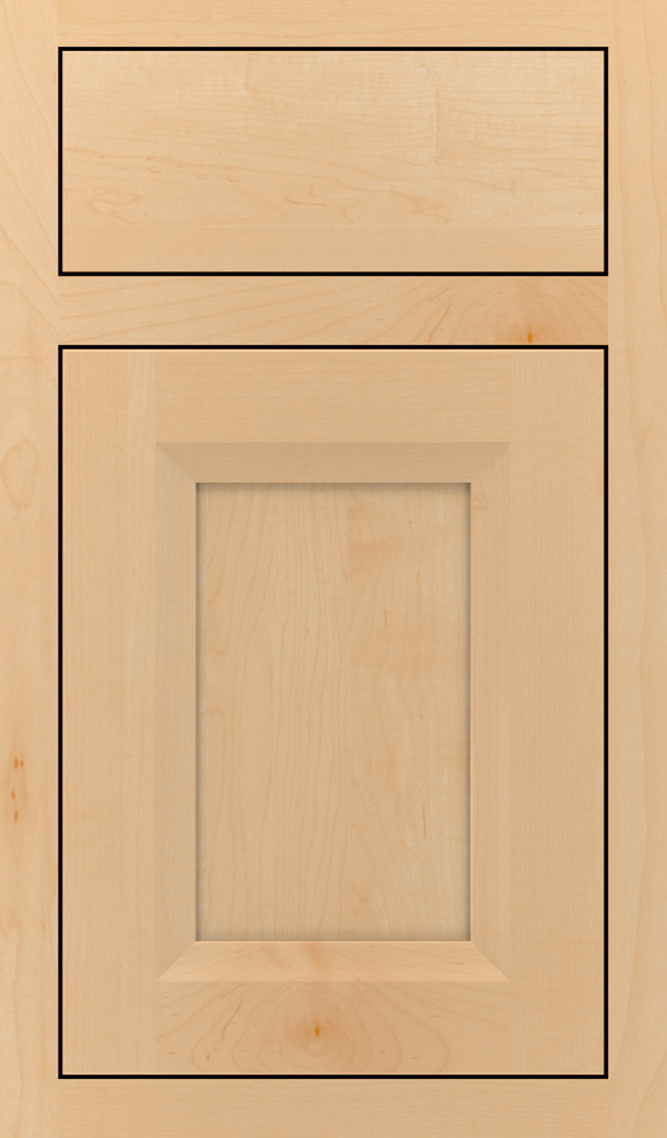 Huchenson Maple Inset Cabinet Door in Natural