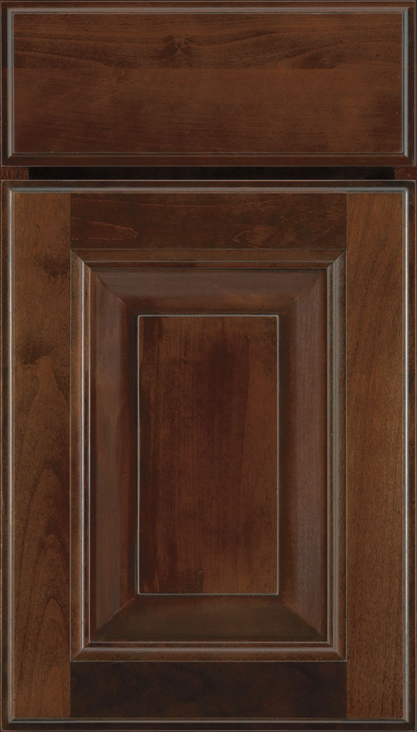 Madison Alder Rasied Panel Cabinet Door in Bombay