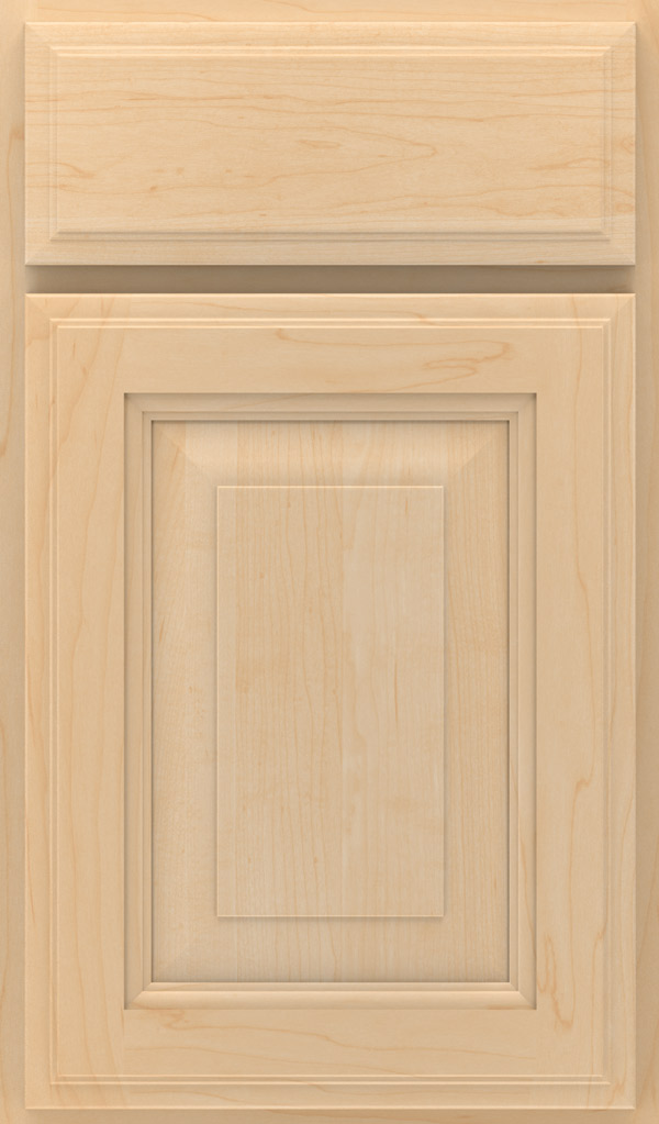 Madison Maple Raised Panel Cabinet Door in Natural