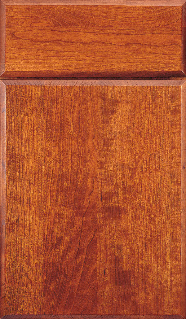 Marquis Cherry Slab Cabinet Door in Suede