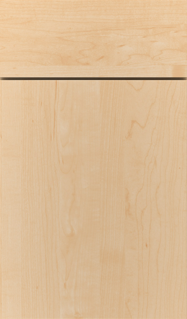 Marquis Maple Slab Cabinet Door in Natural