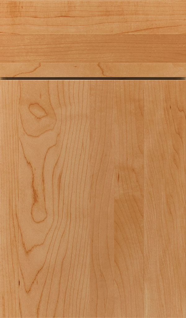 Marquis Maple Slab Cabinet Door in Wheatfield