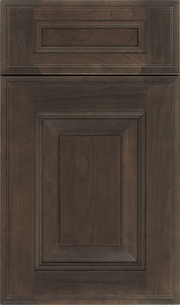 Maxwell 5 Piece Cherry Raised Panel Cabinet Door in Shadow