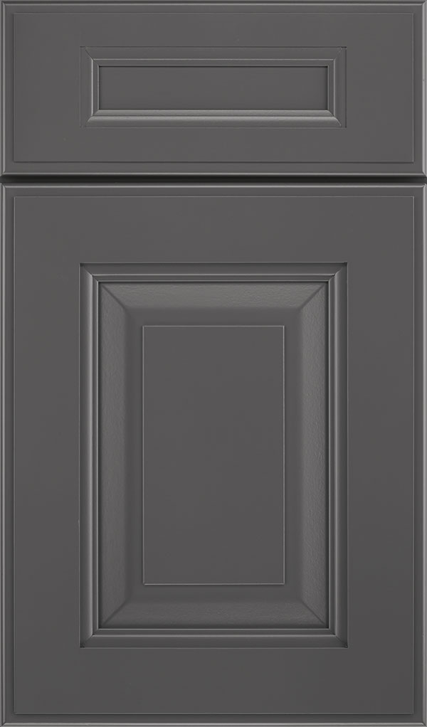 Maxwell 5 Piece Maple Raised Panel Cabinet Door in Peppercorn