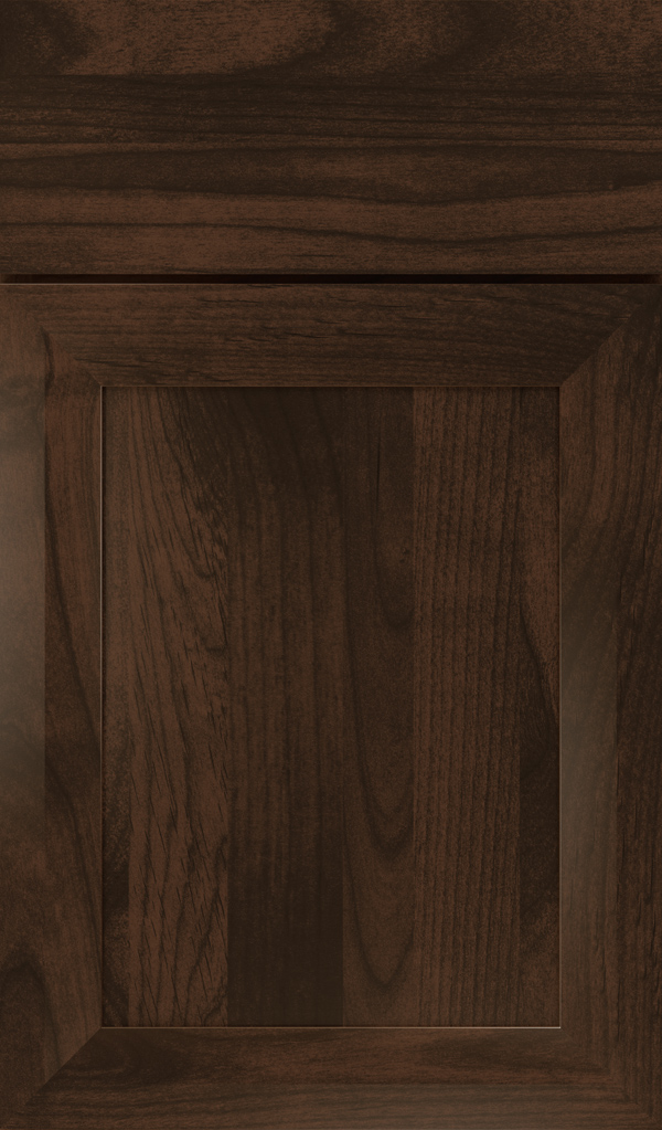 Modesto Alder Recessed Panel Cabinet Door in Bombay