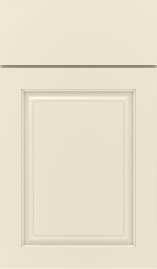 Plaza Maple raised panel cabinet door in Chantille