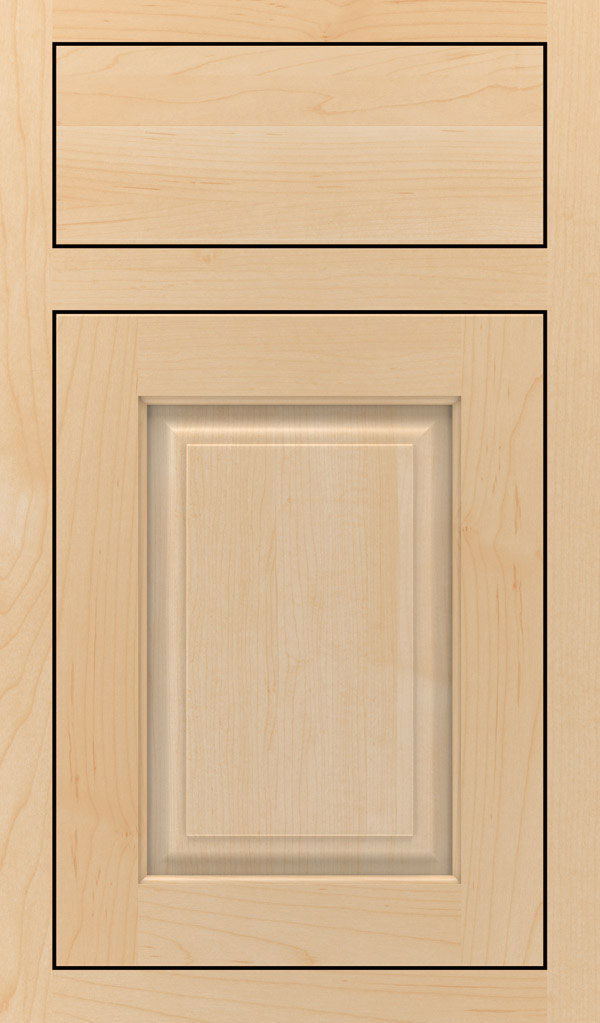Plaza Maple Inset Cabinet Door in Natural