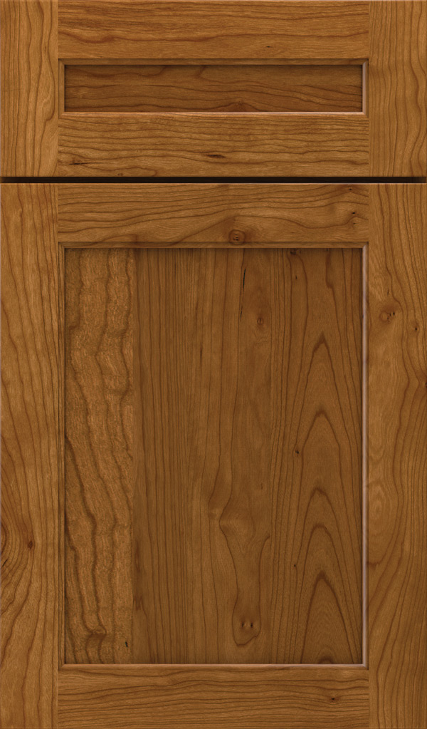 prescott_5pc_cherry_flat_panel_cabinet_door_suede