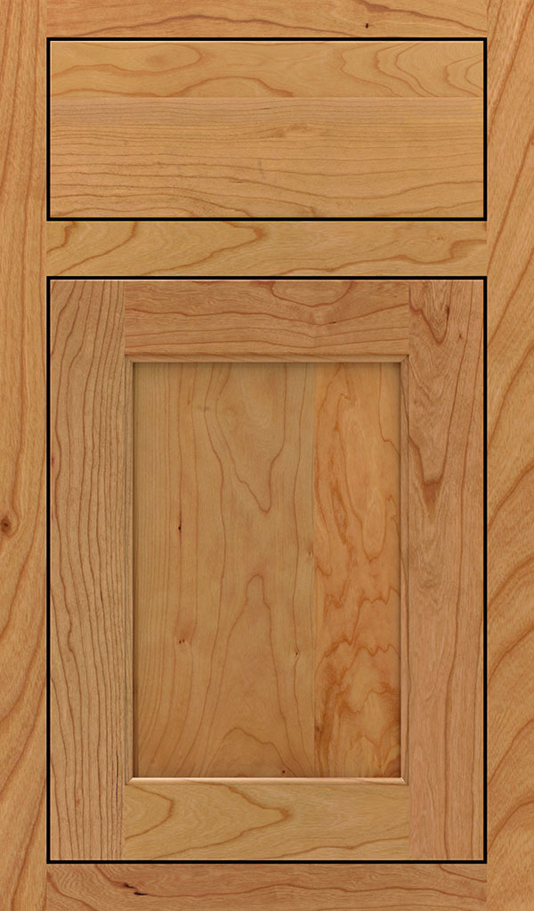 Prescott Cherry Inset Cabinet Door in Natural