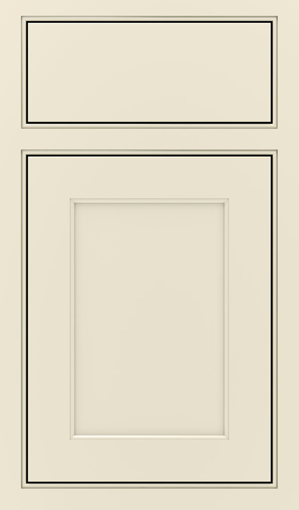 Prescott Maple Beaded Inset Cabinet Door in Chantille