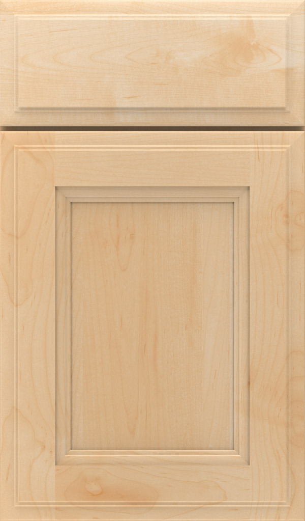 Roslyn Maple Shaker Style Cabinet Door in Natural