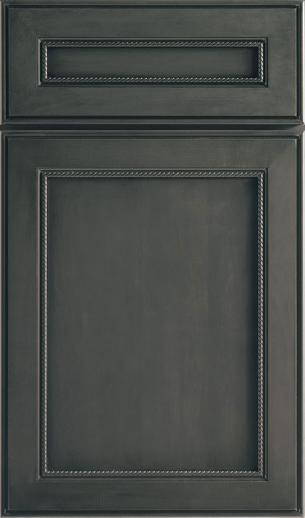 Savannah 5 Piece Maple Flat Panel Cabinet Door in Cobblestone