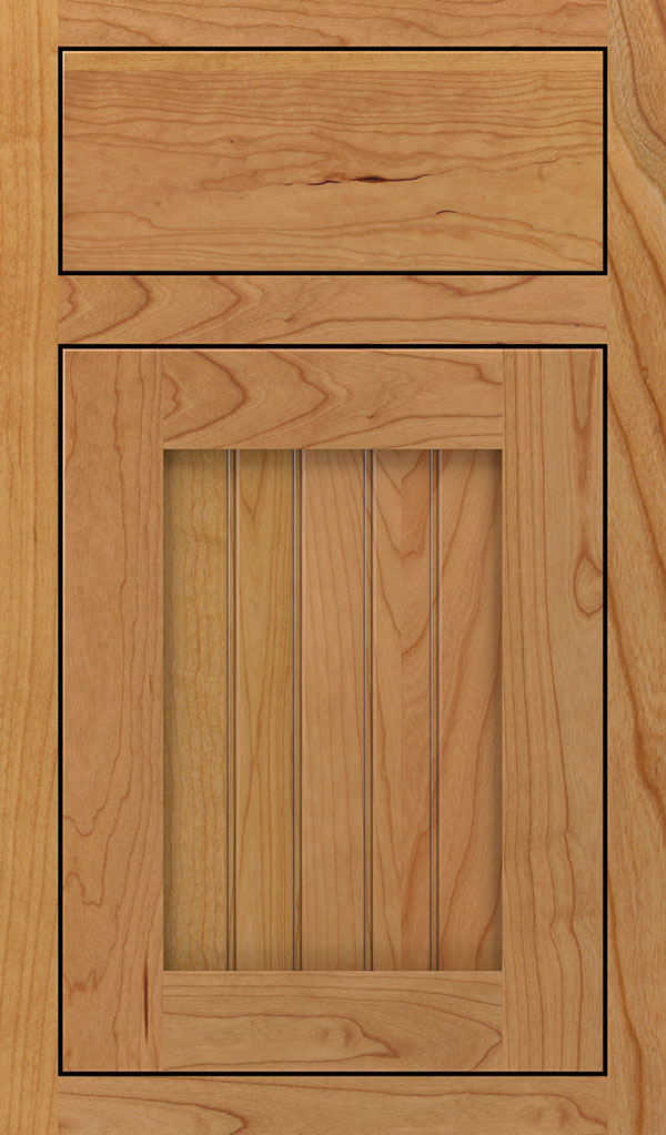 Simsbury Cherry Inset Cabinet Door in Natural