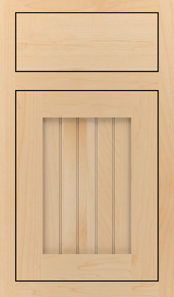 Simsbury Maple Inset Cabinet Door in Natural