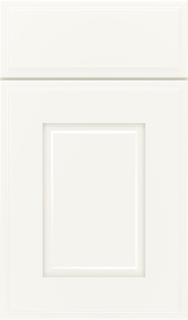 Toulan Maple Raised Panel Cabinet Door in White