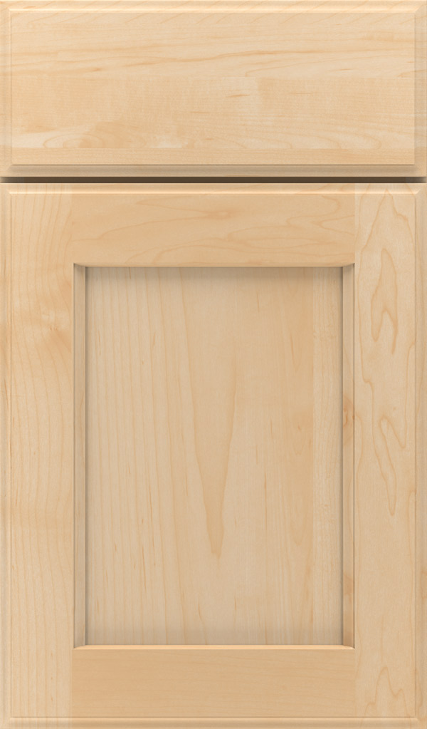 Treyburn Maple recessed panel cabinet door in Natural