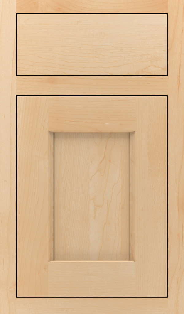 Treyburn Maple Inset Cabinet Door in Natural
