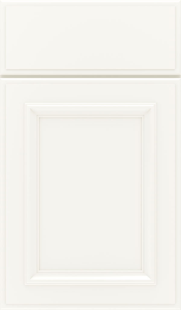 Yardley Maple Raised Panel Cabinet Door in White