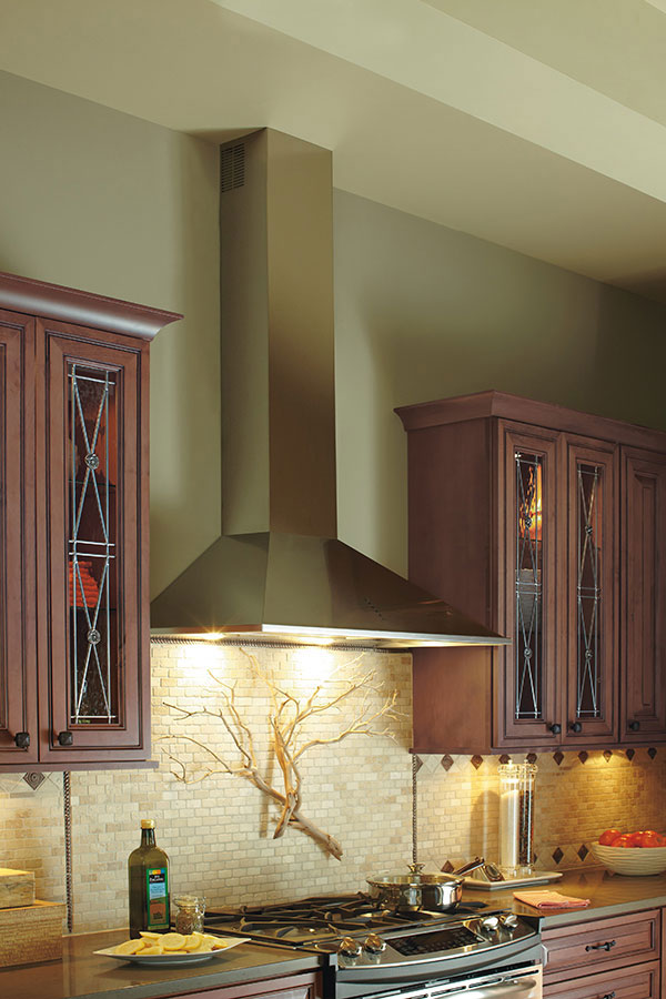 Stainless Steel Range Hood Tapered